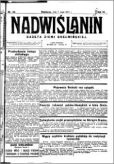 Nadwiślanin. Gazeta Ziemi Chełmińskiej, 1927.05.07 R. 9 nr 36