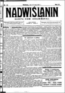 Nadwiślanin. Gazeta Ziemi Chełmińskiej, 1927.05.28 R. 9 nr 42