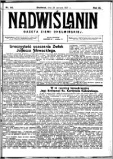 Nadwiślanin. Gazeta Ziemi Chełmińskiej, 1927.06.25 R. 9 nr 50