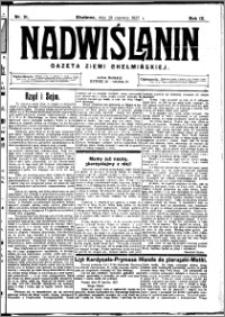 Nadwiślanin. Gazeta Ziemi Chełmińskiej, 1927.06.29 R. 9 nr 51