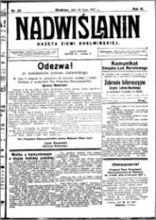 Nadwiślanin. Gazeta Ziemi Chełmińskiej, 1927.07.30 R. 9 nr 60