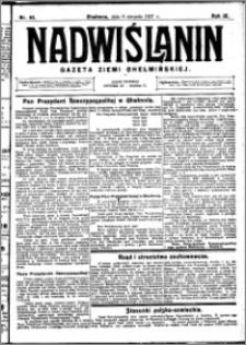 Nadwiślanin. Gazeta Ziemi Chełmińskiej, 1927.08.06 R. 9 nr 62