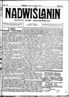 Nadwiślanin. Gazeta Ziemi Chełmińskiej, 1927.08.24 R. 9 nr 67