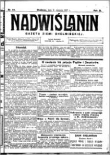 Nadwiślanin. Gazeta Ziemi Chełmińskiej, 1927.08.31 R. 9 nr 69