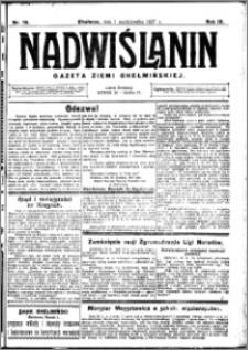 Nadwiślanin. Gazeta Ziemi Chełmińskiej, 1927.10.01 R. 9 nr 78