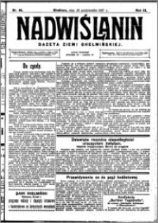Nadwiślanin. Gazeta Ziemi Chełmińskiej, 1927.10.26 R. 9 nr 85