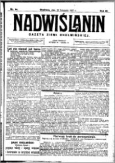 Nadwiślanin. Gazeta Ziemi Chełmińskiej, 1927.11.26 R. 9 nr 94