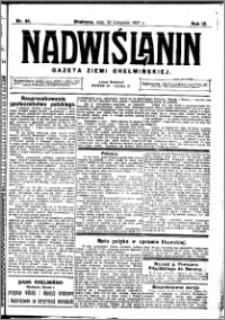 Nadwiślanin. Gazeta Ziemi Chełmińskiej, 1927.11.30 R. 9 nr 95