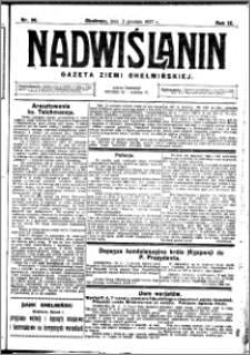 Nadwiślanin. Gazeta Ziemi Chełmińskiej, 1927.12.03 R. 9 nr 96