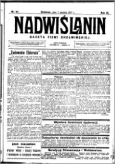 Nadwiślanin. Gazeta Ziemi Chełmińskiej, 1927.12.07 R. 9 nr 97