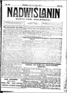 Nadwiślanin. Gazeta Ziemi Chełmińskiej, 1927.12.10 R. 9 nr 98