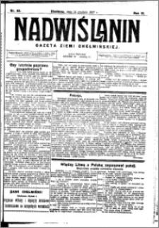 Nadwiślanin. Gazeta Ziemi Chełmińskiej, 1927.12.14 R. 9 nr 99