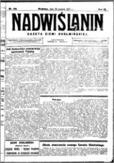 Nadwiślanin. Gazeta Ziemi Chełmińskiej, 1927.12.28 R. 9 nr 103