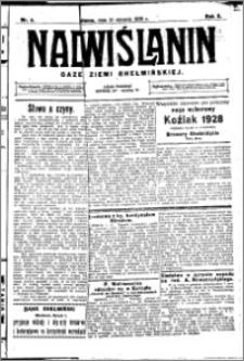 Nadwiślanin. Gazeta Ziemi Chełmińskiej, 1928.01.13 R. 10 nr 4
