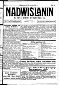 Nadwiślanin. Gazeta Ziemi Chełmińskiej, 1928.01.28 R. 10 nr 8