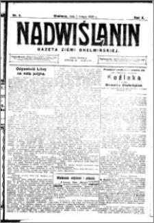 Nadwiślanin. Gazeta Ziemi Chełmińskiej, 1928.02.01 R. 10 nr 9