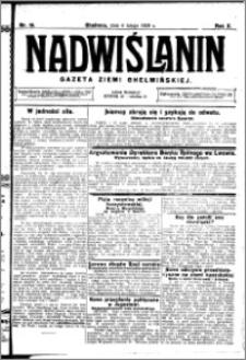 Nadwiślanin. Gazeta Ziemi Chełmińskiej, 1928.02.04 R. 10 nr 10