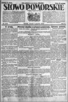 Słowo Pomorskie 1925.12.01 R.5 nr 279