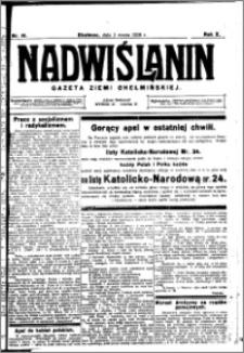 Nadwiślanin. Gazeta Ziemi Chełmińskiej, 1928.03.03 R. 10 nr 18