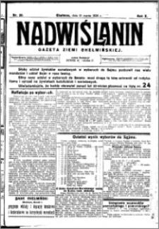 Nadwiślanin. Gazeta Ziemi Chełmińskiej, 1928.03.10 R. 10 nr 20
