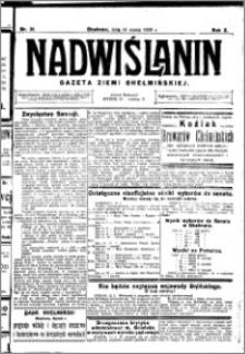 Nadwiślanin. Gazeta Ziemi Chełmińskiej, 1928.03.14 R. 10 nr 21
