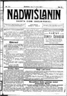 Nadwiślanin. Gazeta Ziemi Chełmińskiej, 1928.03.17 R. 10 nr 22