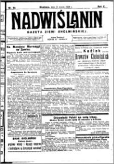 Nadwiślanin. Gazeta Ziemi Chełmińskiej, 1928.03.21 R. 10 nr 23