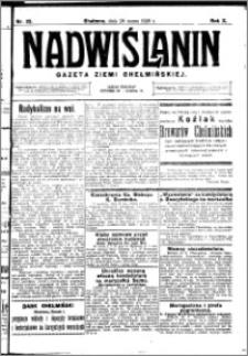 Nadwiślanin. Gazeta Ziemi Chełmińskiej, 1928.03.28 R. 10 nr 25