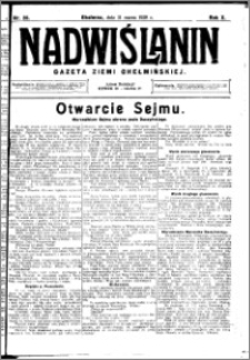 Nadwiślanin. Gazeta Ziemi Chełmińskiej, 1928.03.31 R. 10 nr 26