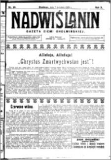 Nadwiślanin. Gazeta Ziemi Chełmińskiej, 1928.04.07 R. 10 nr 28