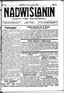 Nadwiślanin. Gazeta Ziemi Chełmińskiej, 1928.04.14 R. 10 nr 30