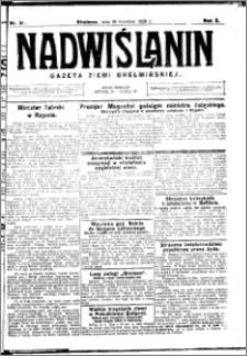 Nadwiślanin. Gazeta Ziemi Chełmińskiej, 1928.04.18 R. 10 nr 31