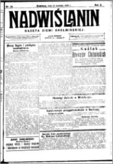 Nadwiślanin. Gazeta Ziemi Chełmińskiej, 1928.04.21 R. 10 nr 32