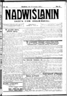 Nadwiślanin. Gazeta Ziemi Chełmińskiej, 1928.04.25 R. 10 nr 33