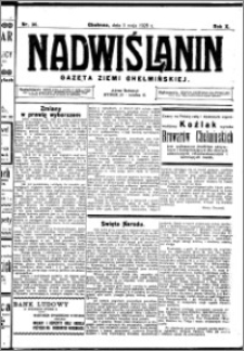 Nadwiślanin. Gazeta Ziemi Chełmińskiej, 1928.05.05 R. 10 nr 36