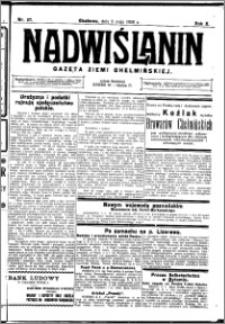 Nadwiślanin. Gazeta Ziemi Chełmińskiej, 1928.05.09 R. 10 nr 37