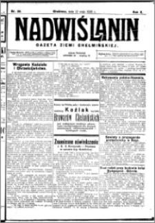 Nadwiślanin. Gazeta Ziemi Chełmińskiej, 1928.05.12 R. 10 nr 38