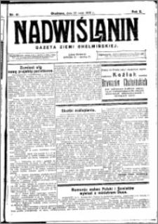 Nadwiślanin. Gazeta Ziemi Chełmińskiej, 1928.05.23 R. 10 nr 41