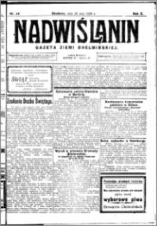 Nadwiślanin. Gazeta Ziemi Chełmińskiej, 1928.05.26 R. 10 nr 42