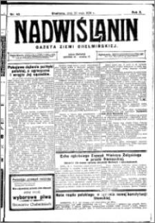 Nadwiślanin. Gazeta Ziemi Chełmińskiej, 1928.05.30 R. 10 nr 43