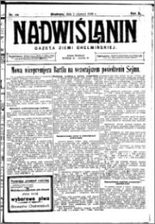 Nadwiślanin. Gazeta Ziemi Chełmińskiej, 1928.06.02 R. 10 nr 44