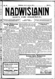 Nadwiślanin. Gazeta Ziemi Chełmińskiej, 1928.06.09 R. 10 nr 46