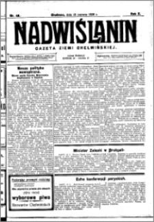 Nadwiślanin. Gazeta Ziemi Chełmińskiej, 1928.06.16 R. 10 nr 48