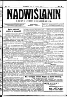 Nadwiślanin. Gazeta Ziemi Chełmińskiej, 1928.06.23 R. 10 nr 50