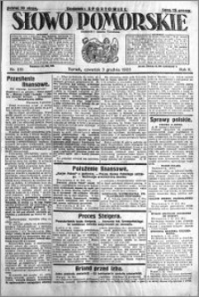 Słowo Pomorskie 1925.12.03 R.5 nr 281