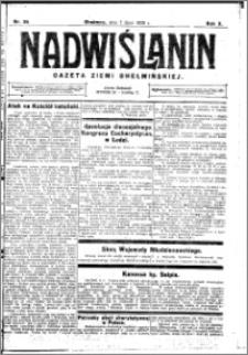 Nadwiślanin. Gazeta Ziemi Chełmińskiej, 1928.07.07 R. 10 nr 54