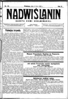 Nadwiślanin. Gazeta Ziemi Chełmińskiej, 1928.07.11 R. 10 nr 55