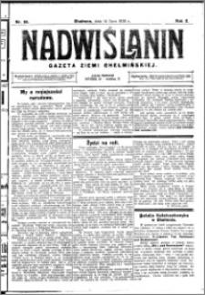 Nadwiślanin. Gazeta Ziemi Chełmińskiej, 1928.07.14 R. 10 nr 56