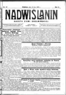 Nadwiślanin. Gazeta Ziemi Chełmińskiej, 1928.07.18 R. 10 nr 57