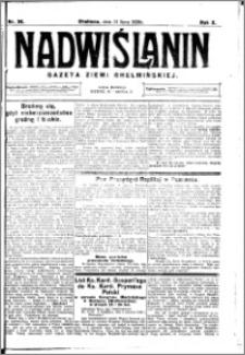 Nadwiślanin. Gazeta Ziemi Chełmińskiej, 1928.07.21 R. 10 nr 58